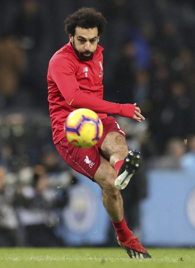 Pozor! Pálí liverpoolský kanonýr Mohamed Salah.