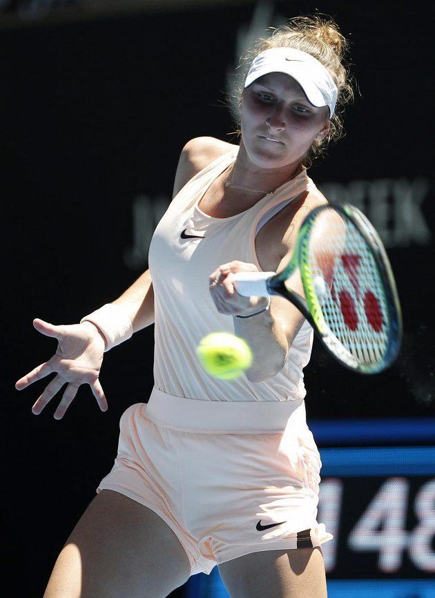 Markéta Vondroušová se s dvouhrou na Australian Open loučí.