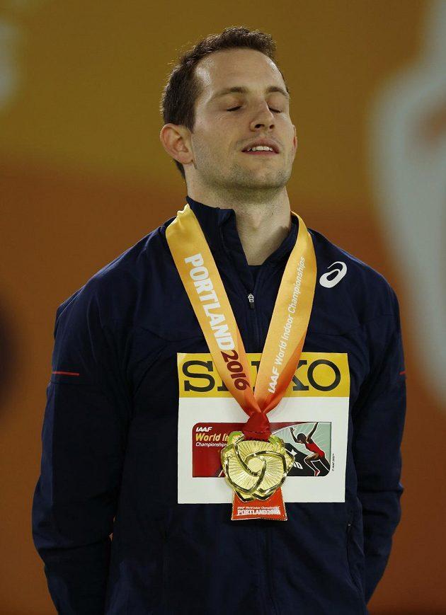 Renaud Lavillenie, halový mistr světa.