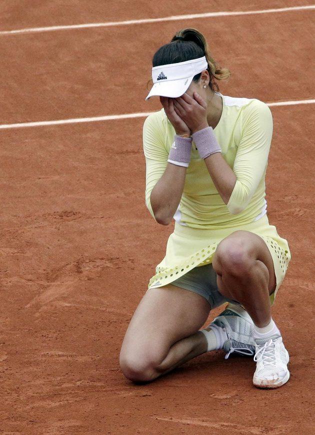 Španělská tenistka Garbiňe Muguruzaová to dokázala, poprvé v kariéře získala grandslamový titul.