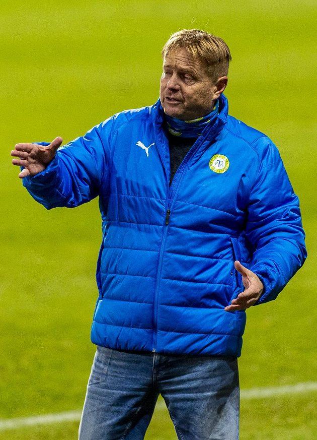 Trenér Teplic Stanislav Hejkal.