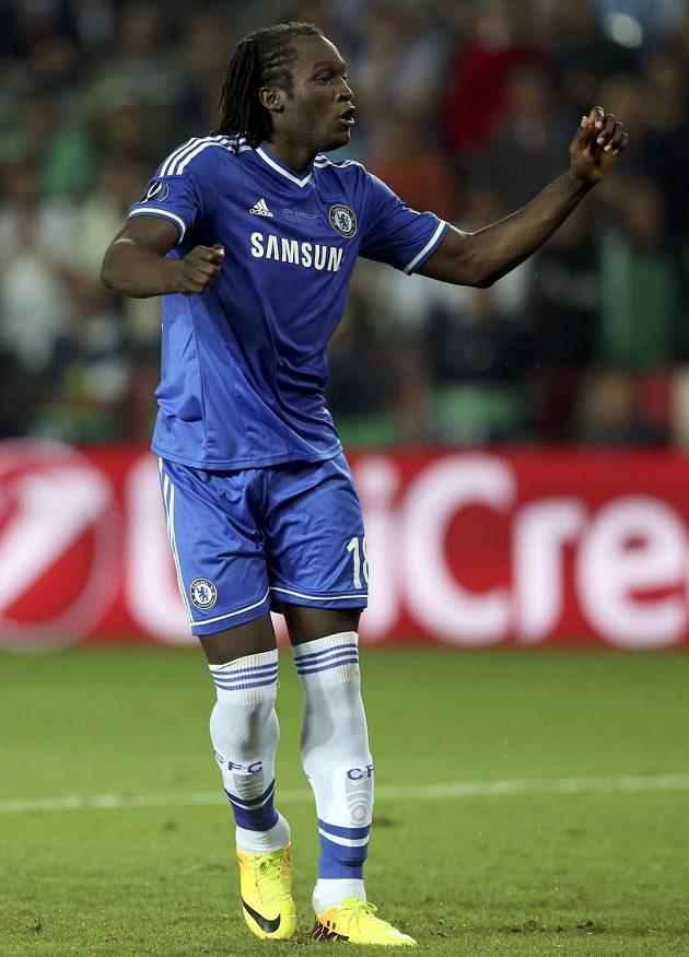 Útočník Chelsea Romelu Lukaku nedal rozhodující pokutový kop a poslal trofej Bayernu Mnichov.