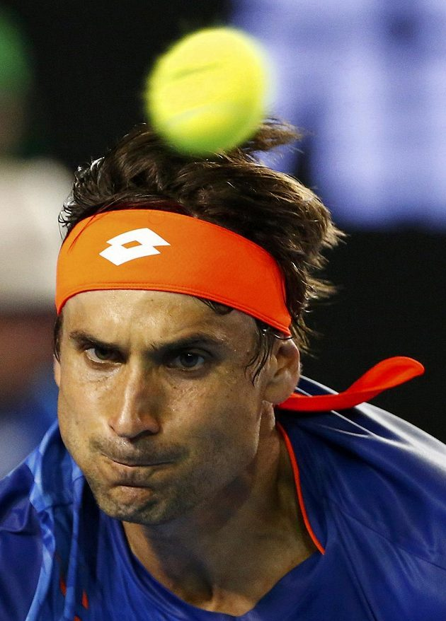 Španělský tenista David Ferrer přes veškerou snahu tahal ve čtvrtfinále Australian Open za kratší konec.