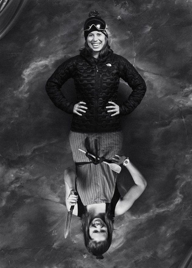 Snowboardistka Eva Samková.