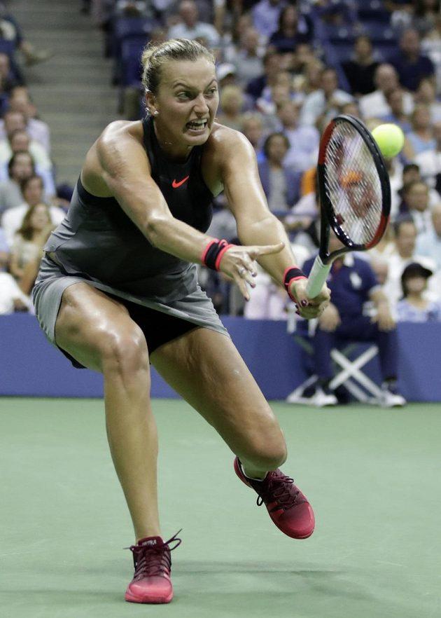 Bojovala, ale končí. Tenistka Petra Kvitová prohrála ve čtvrtfinále grandslamového US Open s domácí favoritkou Venus Williamsovou po setech 3:6, 6:3 a 6:7.