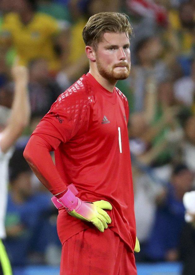 Německý brankář Timo Horn nechytil v rozstřelu ani jednu brazilskou penaltu.
