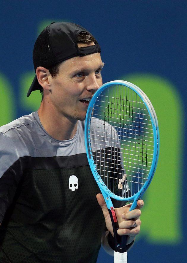 Tomáš Berdych už je v Dauhá ve čtvrtfinále.