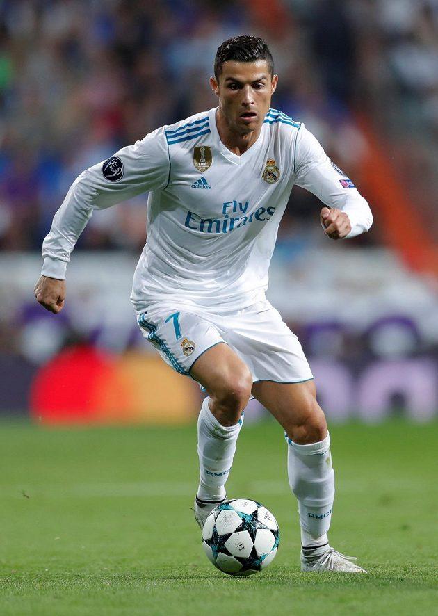 Cristiano Ronaldo se v Lize mistrů znovu střelecky prosadil.