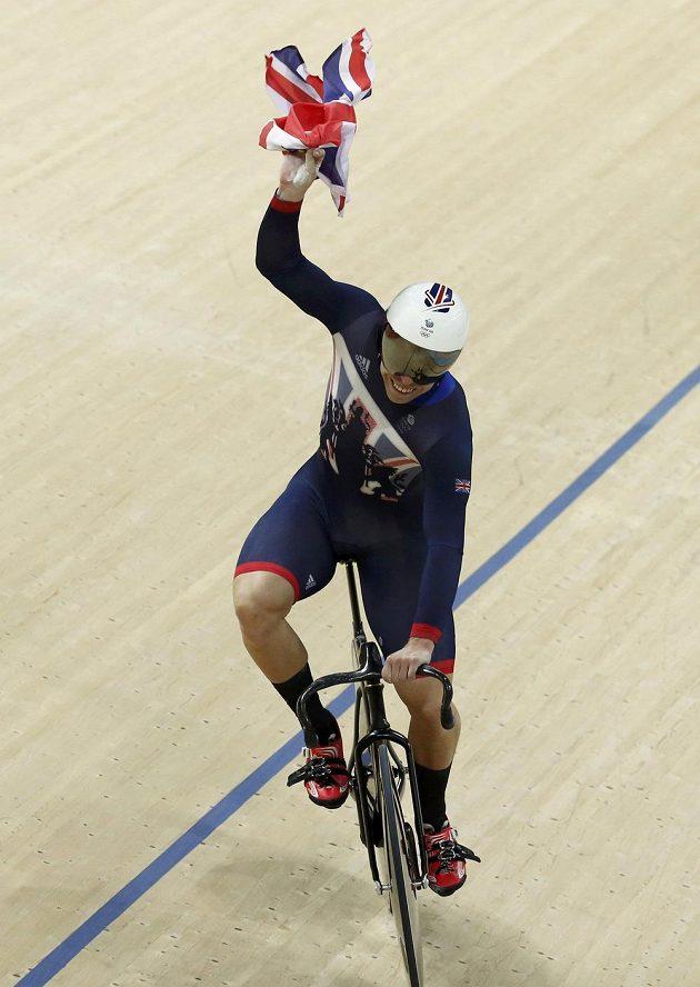 Britský sprinter Philip Hindes.