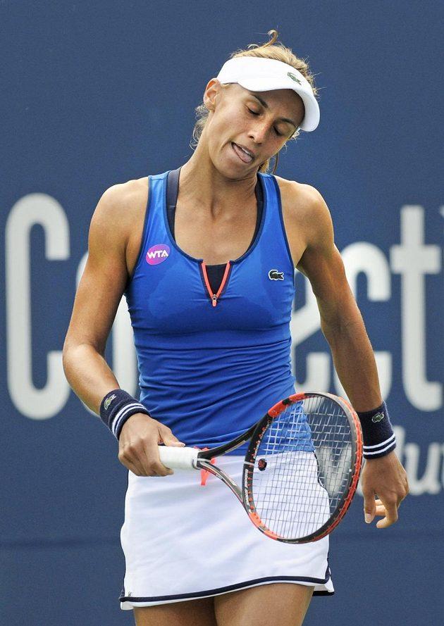 Lesja Curenková se do finále turnaje v New Havenu neprobojovala.