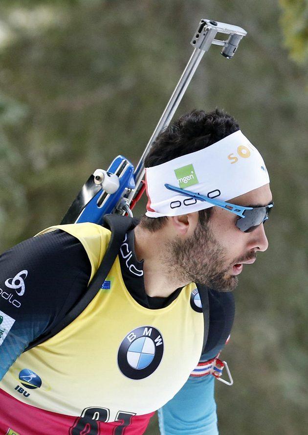 Francouzský biatlonista Martin Fourcade vyhrál vytrvalostní závod Světového poháru v Pokljuce.