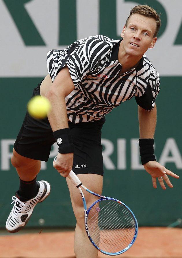 Tomáš Berdych začal v Paříži parádně.