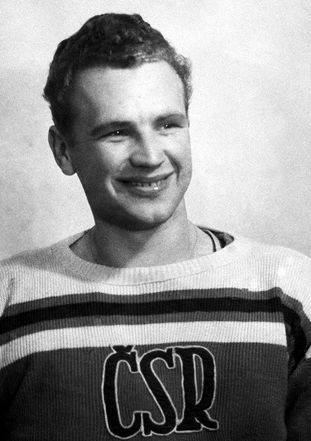 Vladimír Kobranov na archivním snímku z února 1950.
