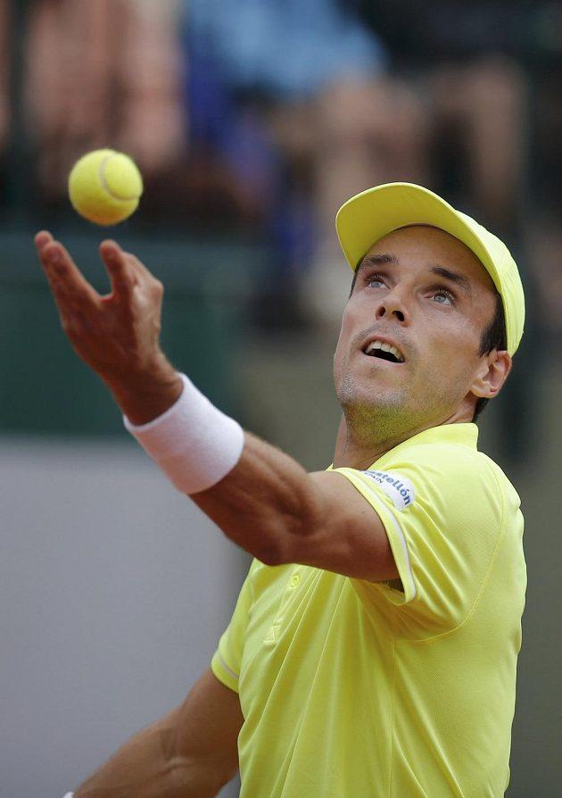 Španělský tenista Roberto Bautista.