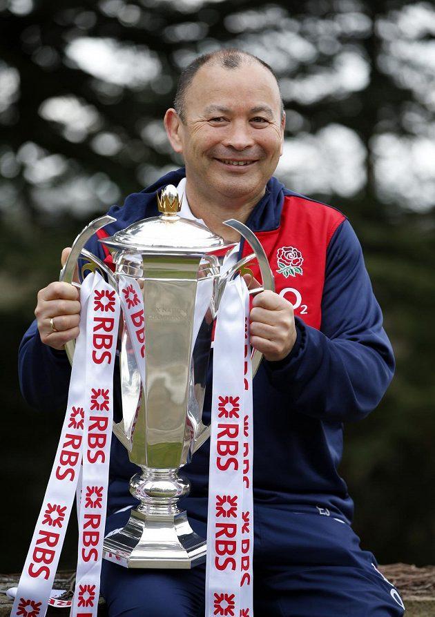 Trenér Eddie Jones, strůjce triumfu Anglie.