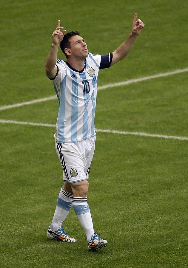 Argentinský klenot Lionel Messi.