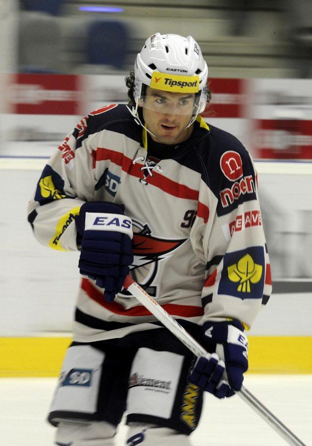 Nová posila chomutovských hokejistů, kanadský útočník Mark Bomersback.