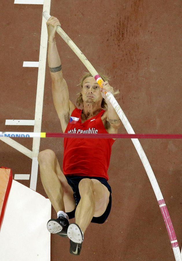 Tyčkař Michal Balner skočil 565 centimetrů, což ve finále stačilo na sedmé místo.
