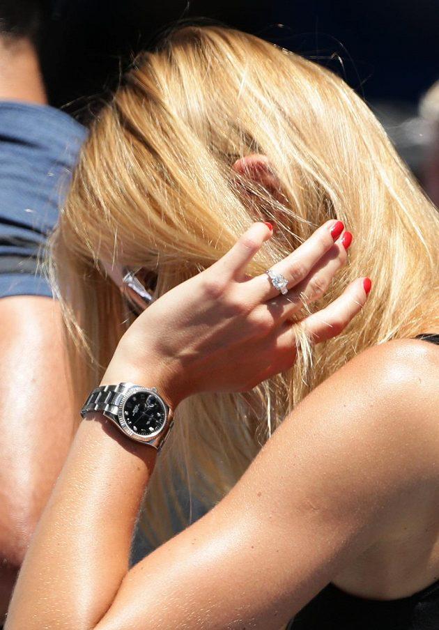 Kouzelný prsten láká fotografy během celého turnaje...