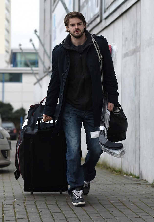 Hokejista Roman Horák před srazem národního týmu.