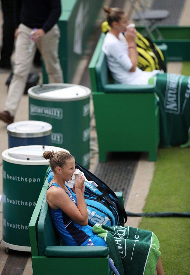 Bývalá světová jednička v Birminghamu dohrála. Souboj sester Plíškových vyhrála Kristýna, světovou trojku Karolínu zdolala 6:2, 3:6, 7:6 a ve čtvrtfinále ji čeká Barbora Strýcová.