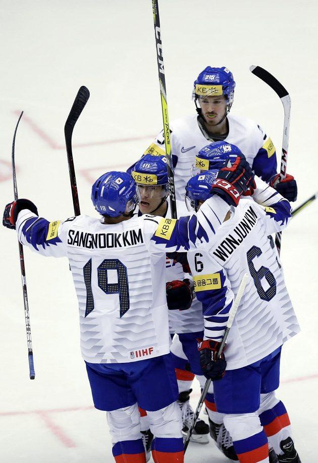 Korejci se radují, otevřeli skóre v zápase s USA.
