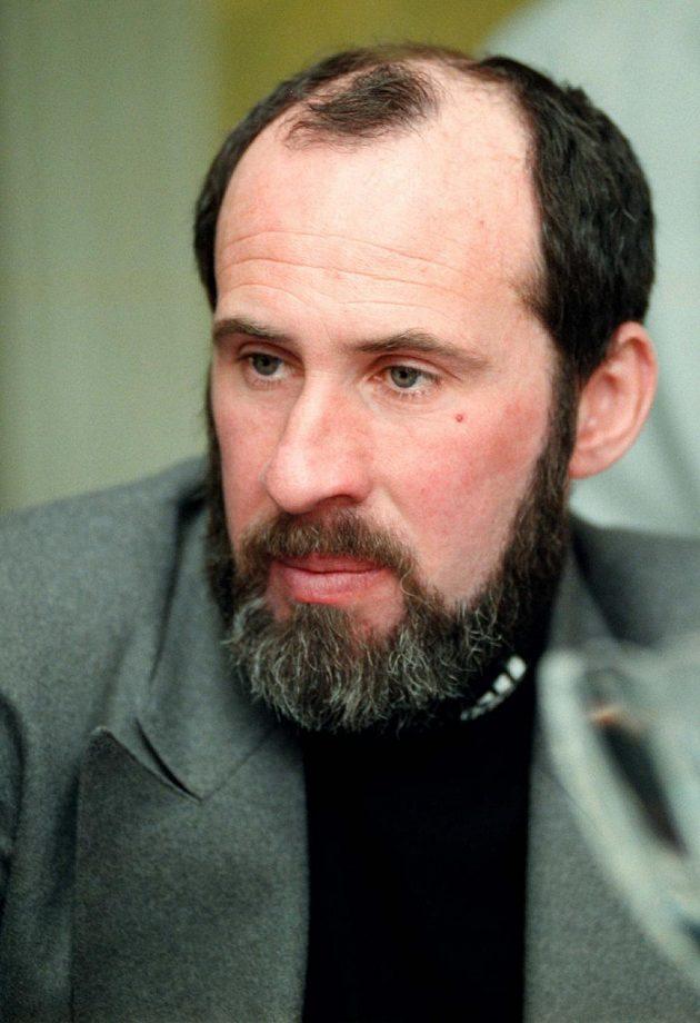 Český automobilový jezdec Otakar Krámský na archivním snímku z roku 1999.