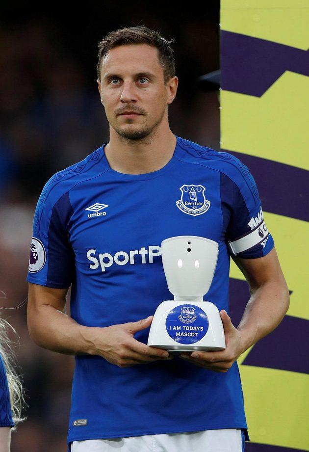 Kapitán Evertonu Phil Jagielka.