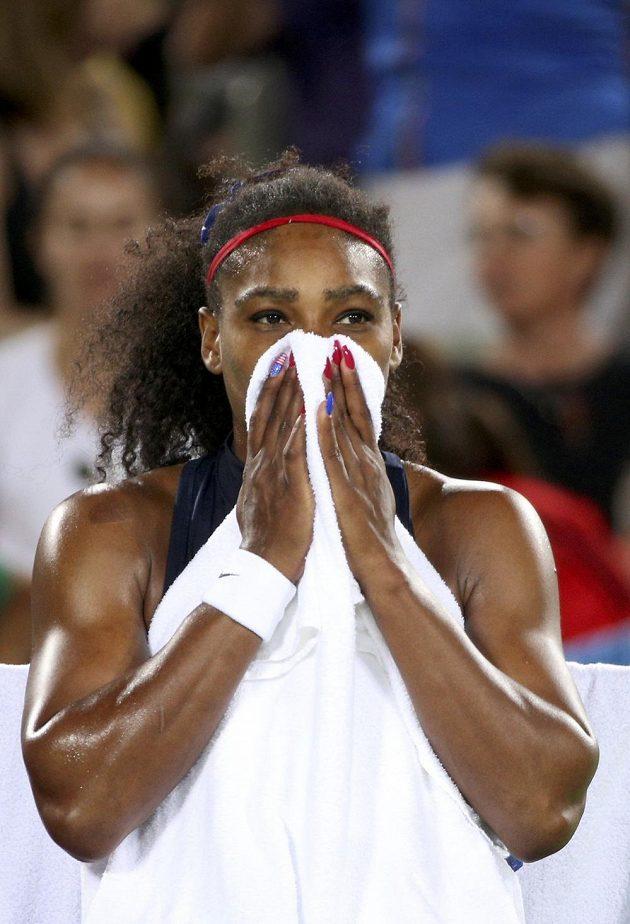 Serena Williamsová na OH končí i ve dvouhře.