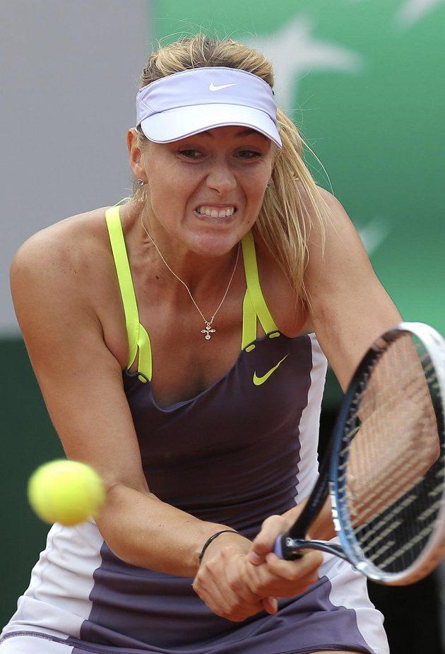 Ruska Maria Šarapovová postoupila do finále French Open.