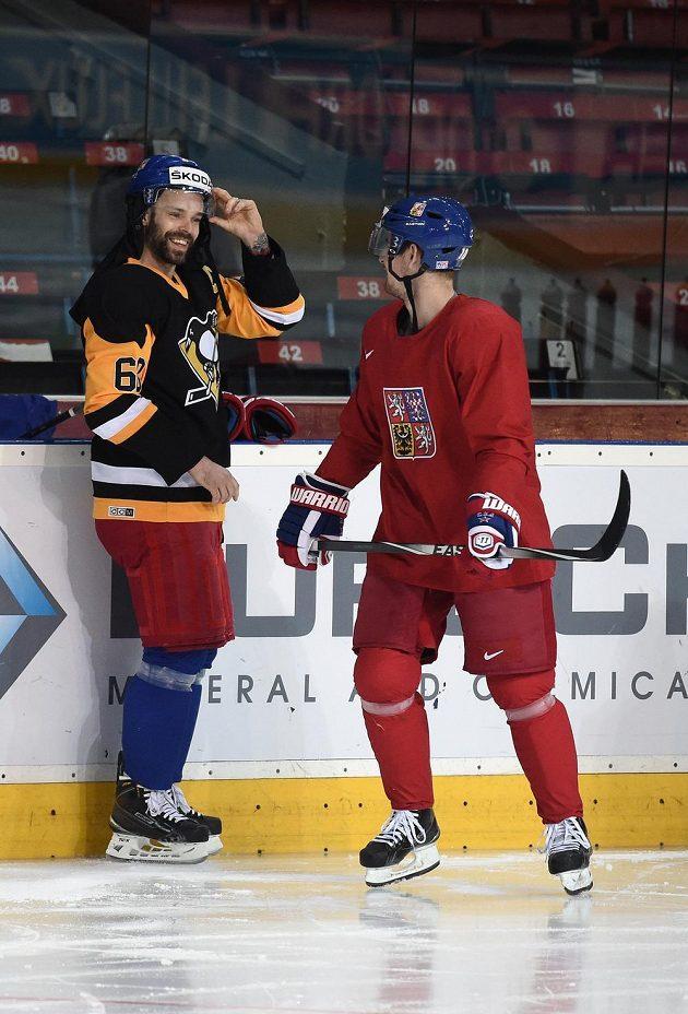 Jakub Klepiš navlékl dres Penguins s 68 na zádech.