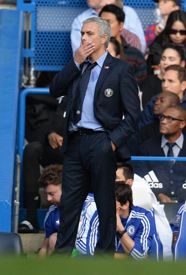 Co se asi Josému Mourinhovi honilo během duelu s Liverpoolem hlavou?