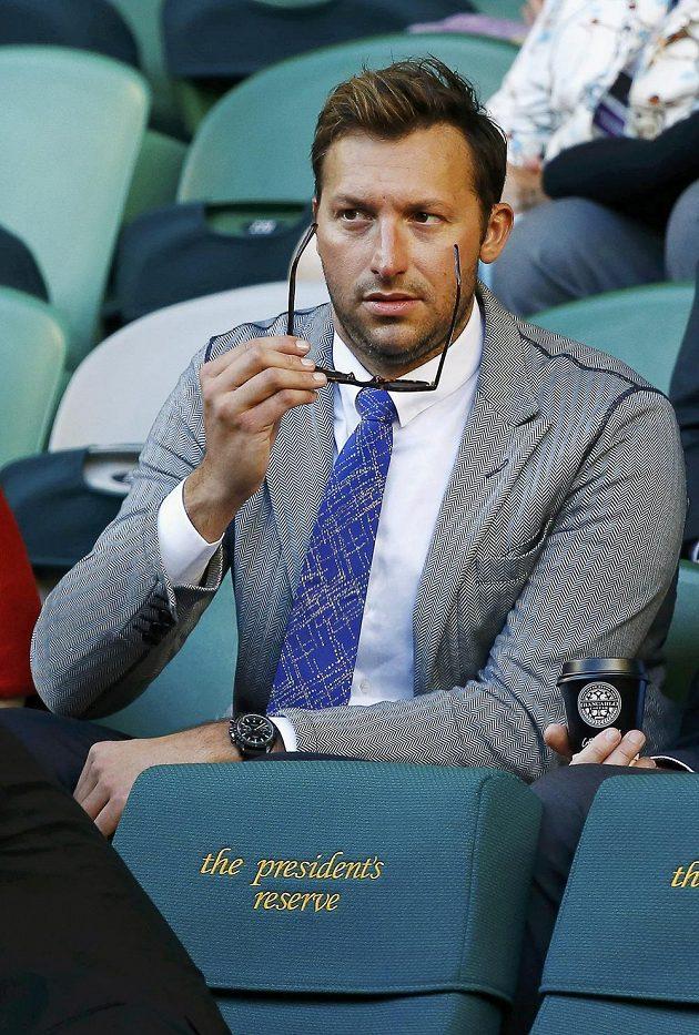 Zápas Djokoviče s Wawrinkou si na Australian Open nenechal ujít ani legendární plavec Ian Thorpe.