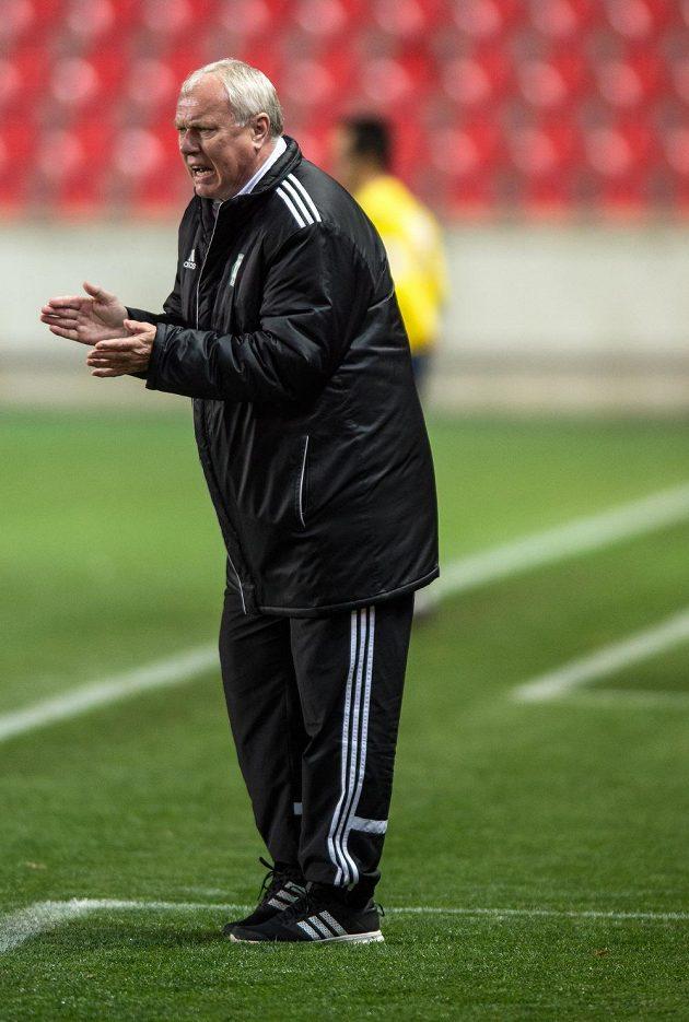 Příbramský trenér Pavel Tobiáš.