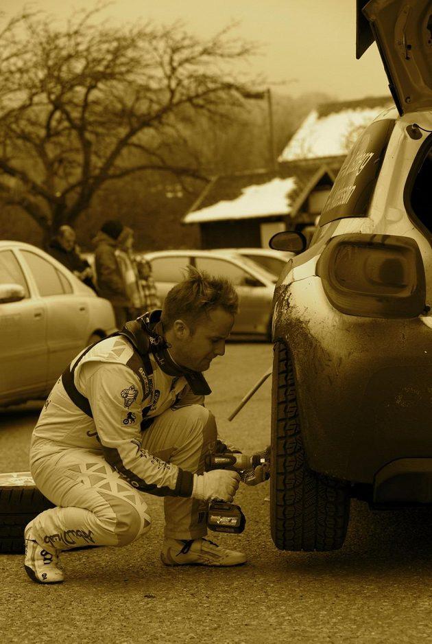 Mads Ostberg při soutěži mistrovství světa v Monte Carlu.