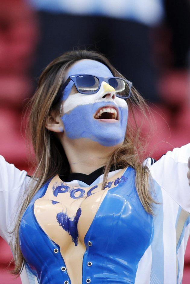 Argentinská fanynka.