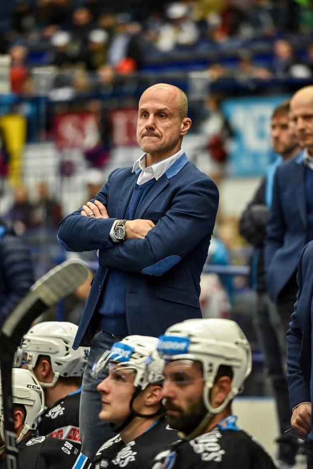 Trenér Plzně Martin Straka nemohl být po utkání předkola play off hokejové extraligy ve Vítkovicích spokojený. Západočeši prohráli 1:3.