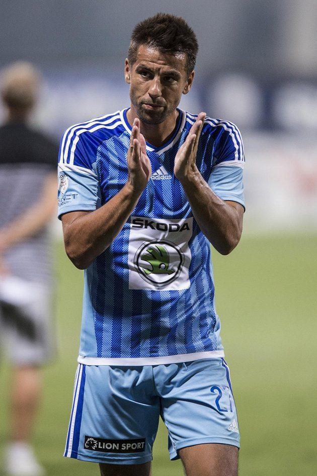 Milan Baroš z Mladé Boleslavi po utkání se Spartou.