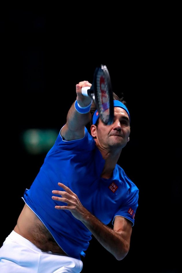 Roger Federer on archiving