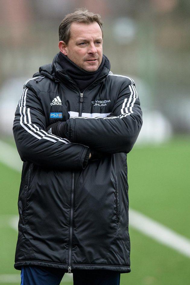 Nový trenér Vysočiny Jihlava Martin Svědík.