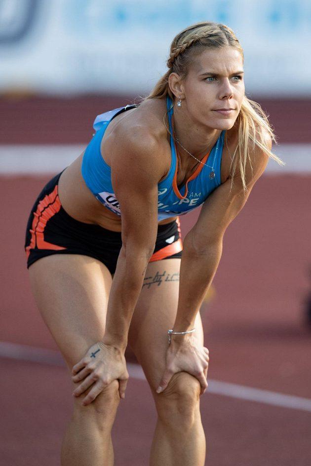 Nikola Ogrodníková během Kontinentálního poháru v atletice, dne 8. září 2018 v Ostravě.
