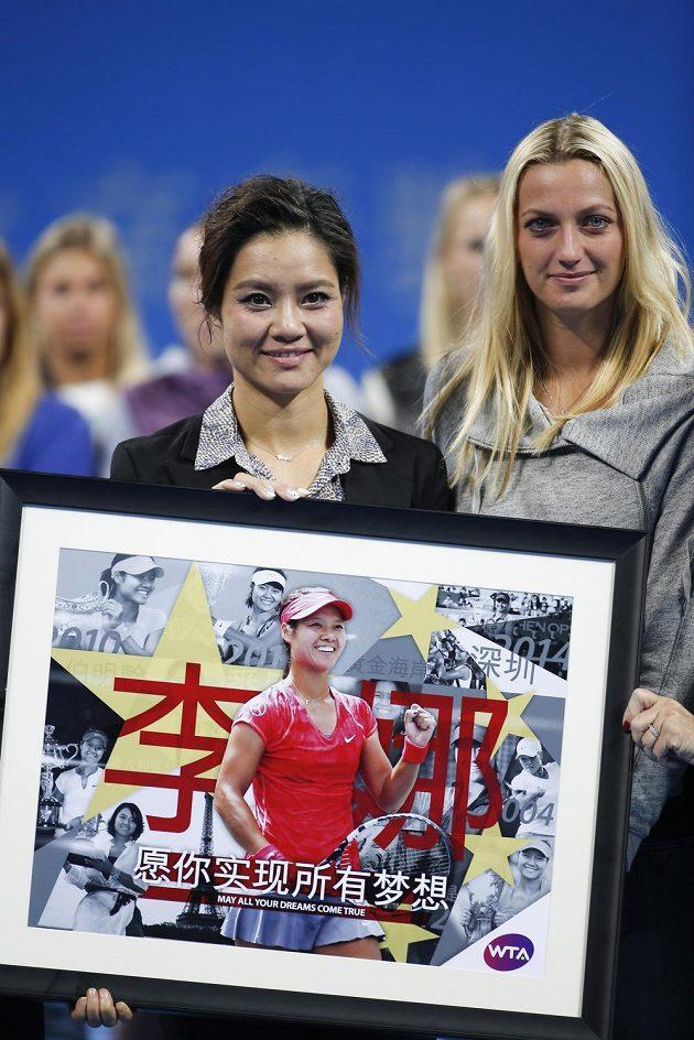 Čínská tenistka Li Na se loučí s kariérou po boku Petry Kvitové.