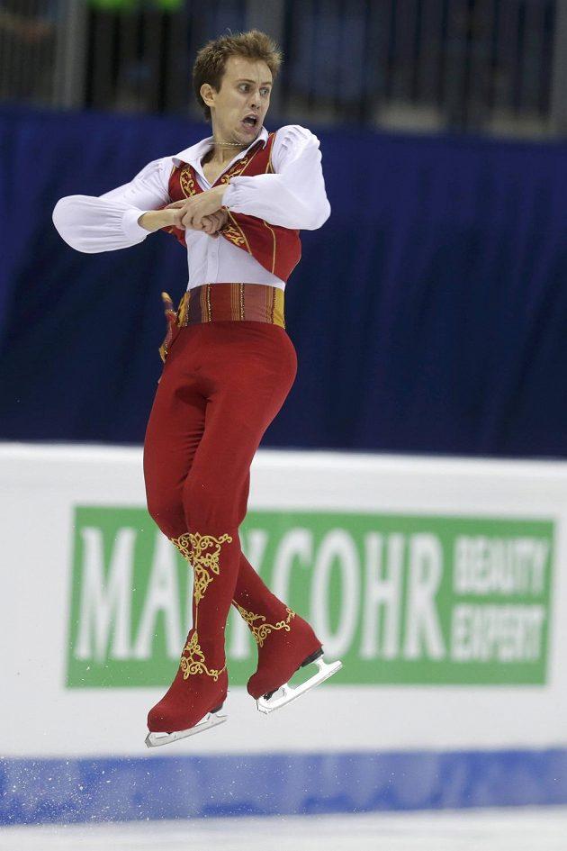 Michal Březina během volné jízdy.