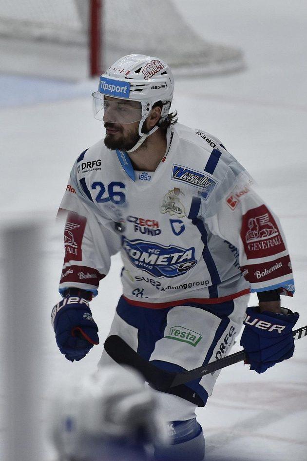 Brněnský hokejista Martin Zaťovič.