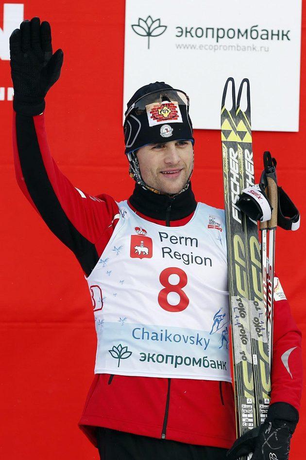 Sdruženář Miroslav Dvořák po třetím místě na Světovém poháru v Čajkovském.