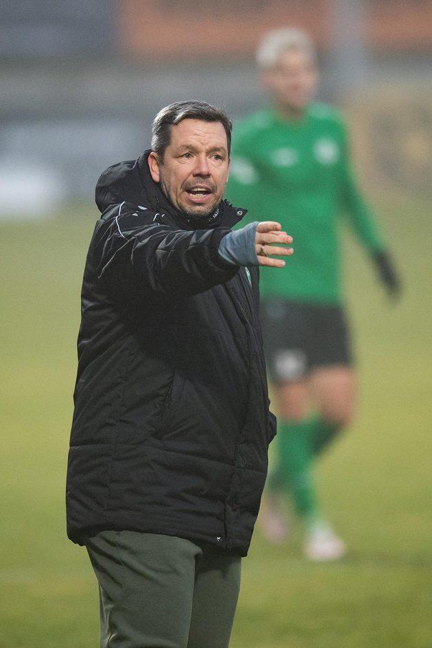 Trenér Příbrami Pavel Horváth.
