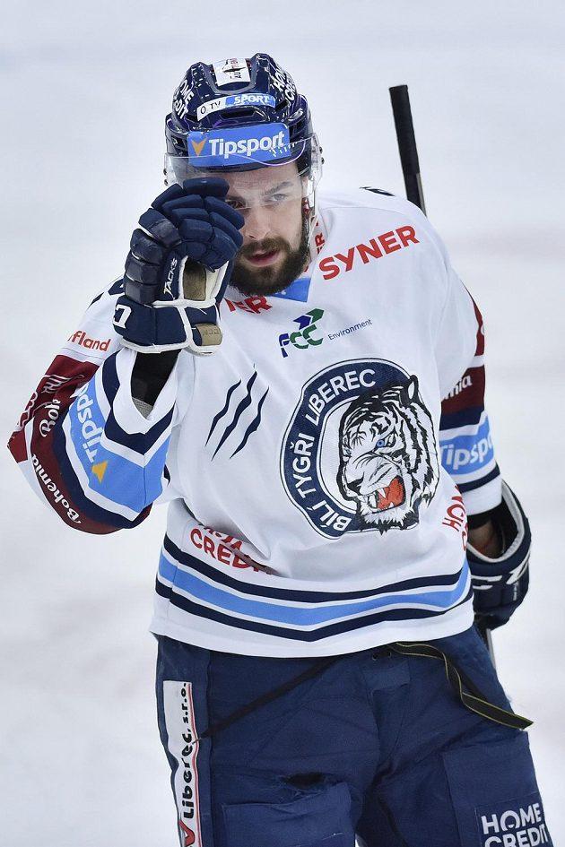 Hokejista Rostislav Marosz z Liberce.