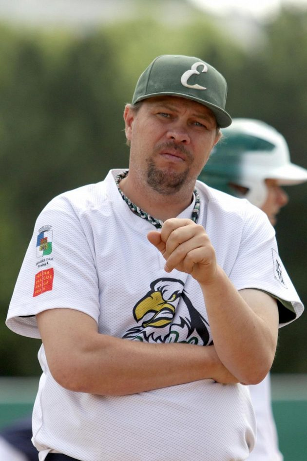 Vladimír Chlup, trenér baseballistů Eagles Praha.