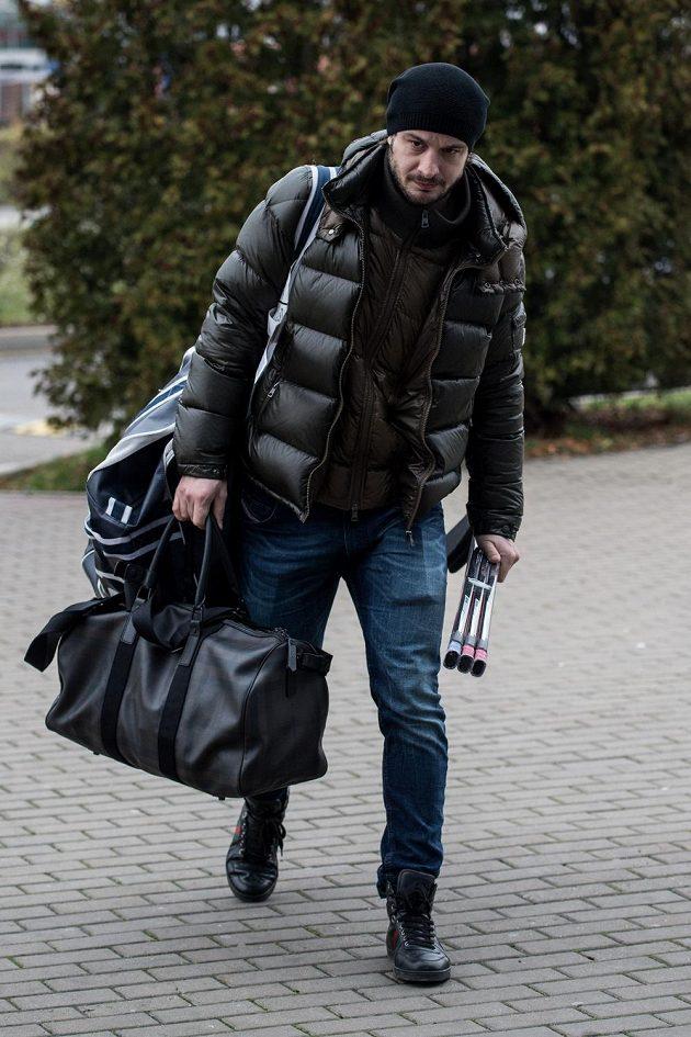 Hokejový útočník Martin Zaťovič přichází na reprezentační sraz před turnajem Channel One Cup.