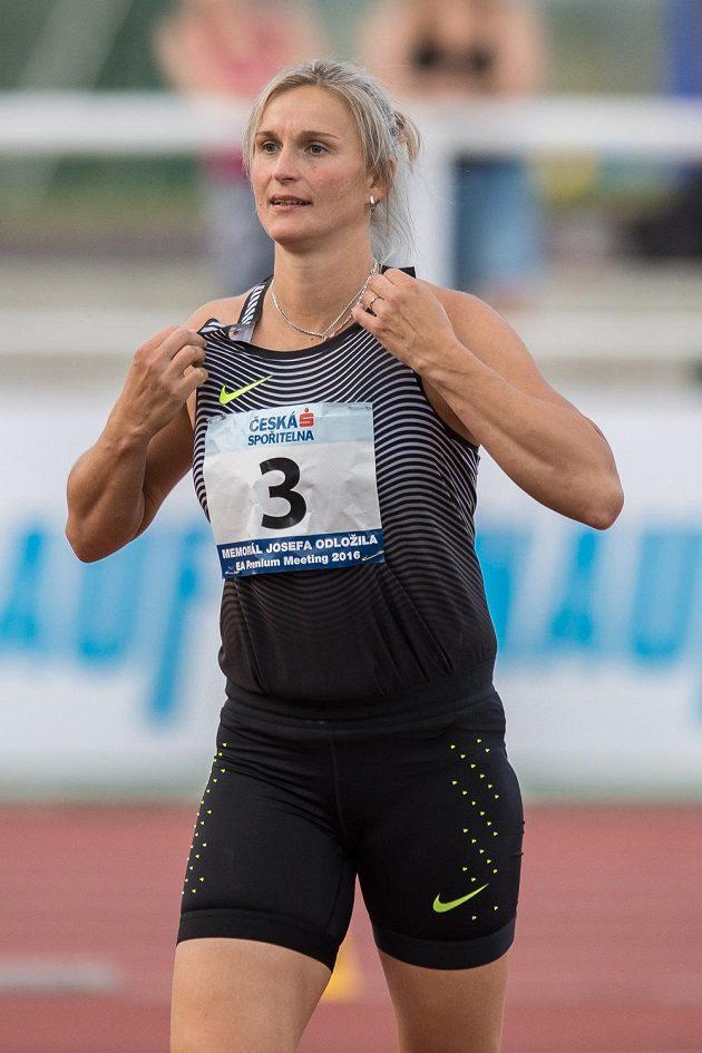 Oštěpařka Barbora Špotáková na Julisce zvítězila.